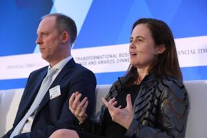 Discussing the prospects for development and the mitigation of climate change within emerging markets at the FT/IFC Transformational Business Conference and Awards.
