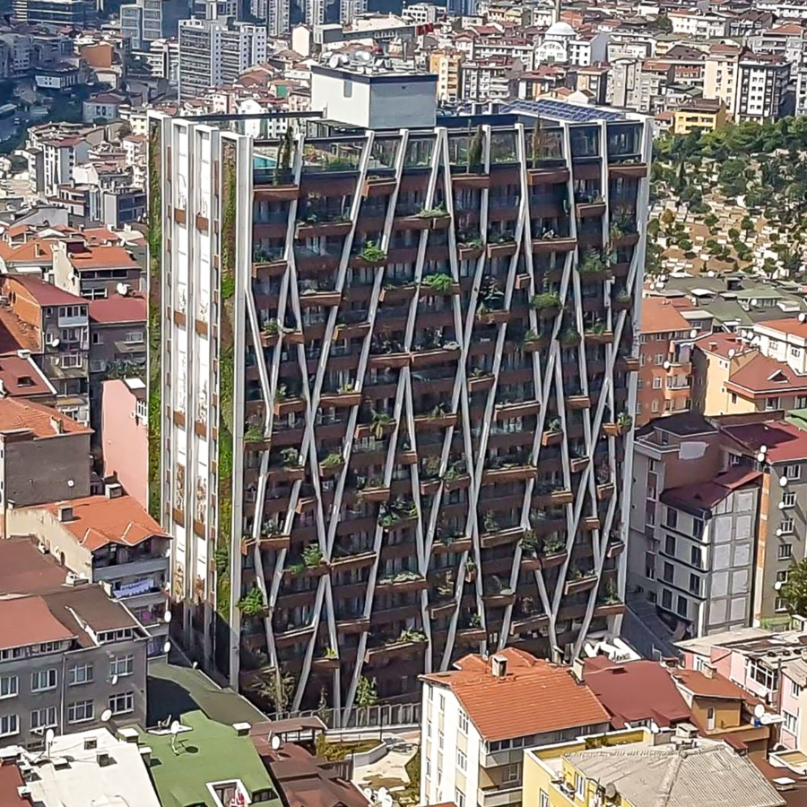 Greenox by Aycan-Feres Joint Venture Istanbul, Turkey, has achieved a final EDGE certification.