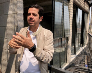 Alfonso Quiñones of BAAQ', who retrofit buildings with great character in Mexico City. The young architects of his company persuaded him to double-certify a former clothing factory with both LEED and EDGE.